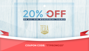 20% OFF on all our Premium WordPress Themes (Expired)