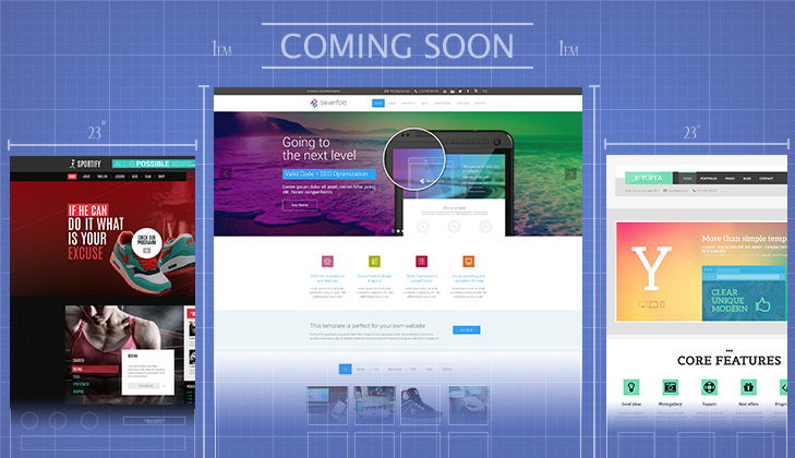 In the works: 3 New Beautiful WordPress Themes