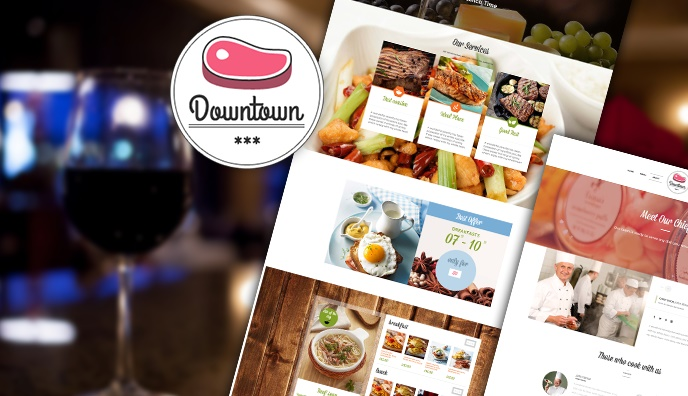 Downtown – our 30th WordPress Theme Released